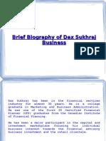 Dax Sukhraj