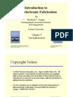 Chp5 Ion Implantation