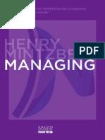 MANAGING Henry Mintzberg