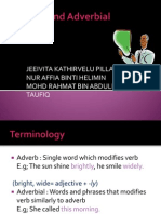Adverb and Adverbial Phrases