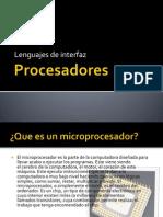 Procesadores Leng Interfaz Env