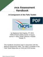 Balance Assessment Handbook