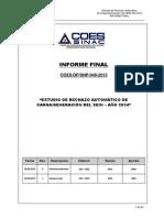 Informe Final ERACG 2014