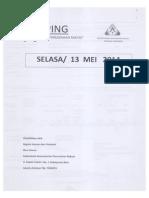 Scan Kliping Berita Perumahan Rakyat, 13 Mei 2014