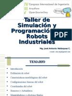 Taller de Simulacion y Programación de Robots Industriales