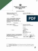 Office of the Court Administrator vs. Atty. Leah Espera Miranda