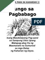 Bible Study Lessons : Paghahanap at Pagsunod