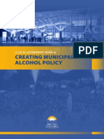 Municipal Alchol Policy Guidelines