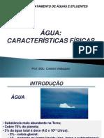 01 Caracter+¡sticas f+¡sicas da +ígua