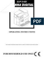 Vienna Digital-SUP018D Coffee Expressor Users manual