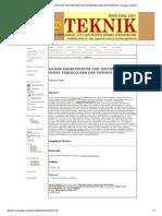 Kajian Karakteristik Das Tuntang Dan Model Pengelolaan Das Terpadu _ Sriyana _ Teknik