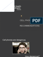 Cell Phone Safty Recommendations