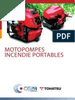 Motopompes Incendie Portables TOHATSU