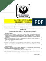 Gaceta Distrito Federal