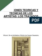 Reflexiones Teoricas y Tecnicas de Los Artistas Los Tratados