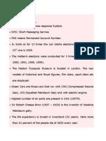 General Studies Basics