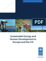 Sustainable Energy and Human Development in Europe and the CIS