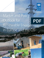 Market and Policy Outlook for Renewable Energy in Europe and the CIS