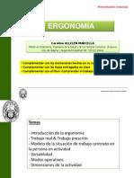Presentación Resumida Ergonomía CUM