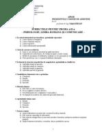 Subiecte Admitere 2010.II