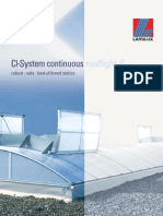 Continuous Skylights Typ b