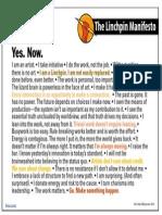 The Linchpin Manifesto