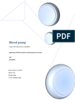 Blood Pump fluid mechanics