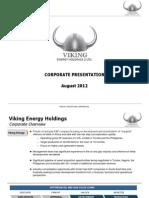 Viking Energy Presentation