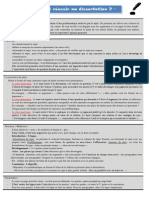 Fiche Methode Dissertation 1