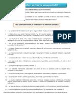 Methode d Analyse d Un Texte Argumentatif (1)