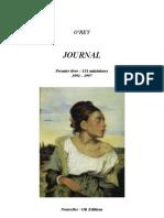 O'rey, Journal, Premier Livre, 151 Miniatures, 1991-1997