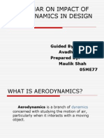 Impact of Aerodynamics in Design