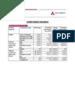 Tariff Sheet Ri