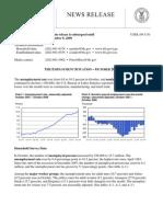 Raport o sytuacji na rynku pracy w USA - pazdziernik 2009