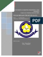Struktur Kayu