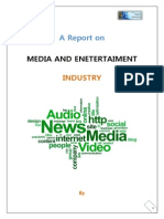 The Media & Entertaiment Industry by RAHUL SOMAN