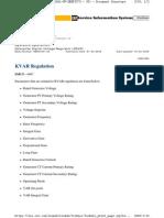 CDVR KVAR Regulation
