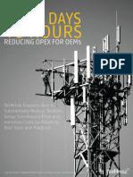 REDUCING OPEX FOR OEMs - Tekmindz
