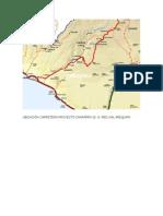 Ubicación Carretera Proyecto Chaparra 32