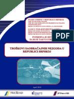 Troskovi Saobracajnih Nezgoda u Republici Srpskoj