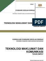 dokumen standard kurikulum dan pentaksiran tmk tahun 4