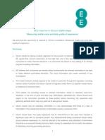 Ofcom Measuring Mobile and Data Quality
