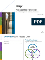 Citrix Virtual Desktop Handbook (7x)
