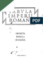 Tudor Tabula Imperii Romani Drobeta Romula Sucidava 1965