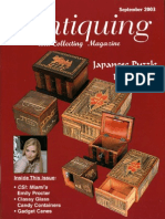36a Japanese Puzzle Boxes