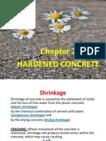 7 Hardened Concrete