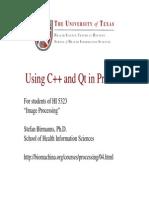 C++ and Qt