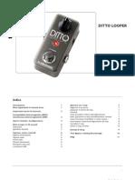 Tc Ditto Looper Manual Italian