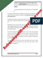 aprojectreportoncomparativeanalysisofairtelandbsnllandline-
