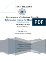 Advanced Traveller Information System